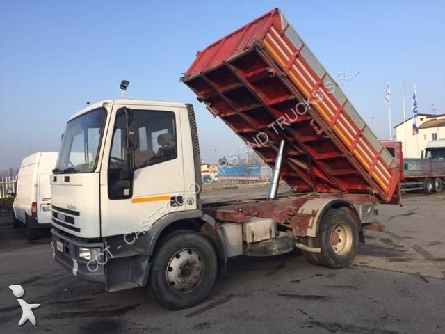 Camion iveco ribaltabile trilaterale eurocargo ml 150 e 18 - Portata massima camion italia ...