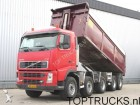 camión Volvo FH 12.420 10x4 TIPPER MANUAL SPRING SUSPENSION