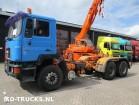 camión MAN 26 372 6x4 full steel ZF