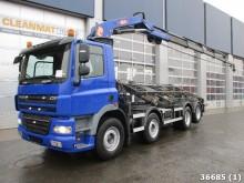 camión DAF 85 FAC CF 460 8x2 Euro 5 PM 24 ton/meter laadkra