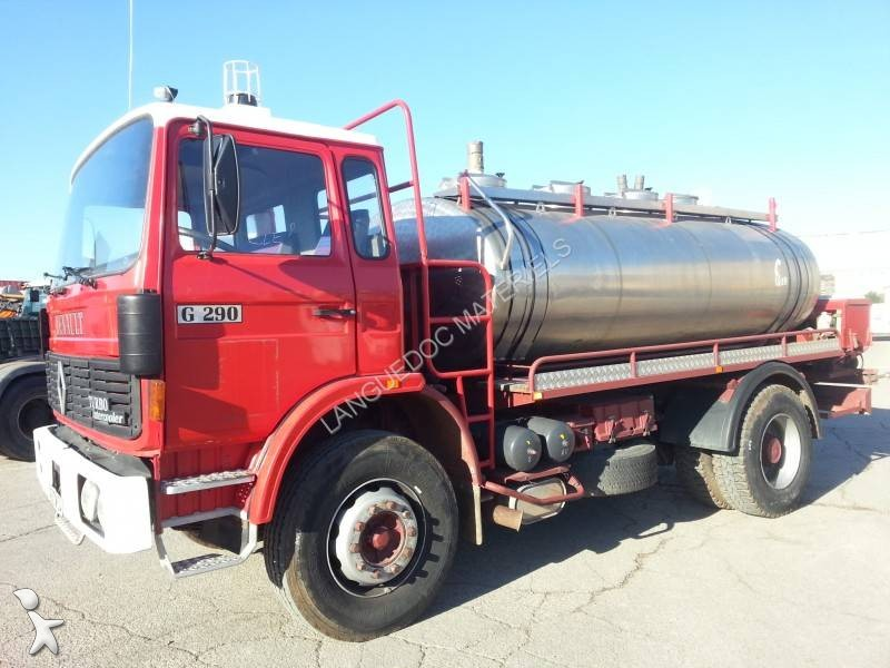 Camion Renault Citerne Gamme G 290 4x2 Euro 0 Occasion N