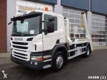 camión Scania P 410 Euro 6 with new VDL 14 ton's ski loader