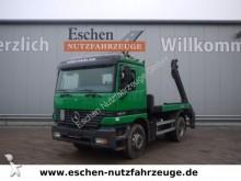 camión Mercedes 1831 4x2, Meiller Teleskopabsetzer, Blatt
