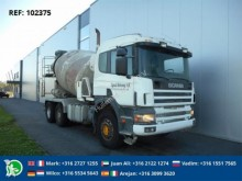 camion Scania 124.400 MIXER FULL STEEL MANUAL