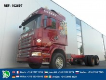 camión Scania R730 CHASSIS FULL STEEL EURO 5