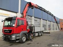 camion MAN TGS 35.440 8x2 Euro 6 Fassi 80 ton/meter +Jib, U