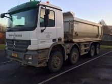 camion benna edilizia Mercedes