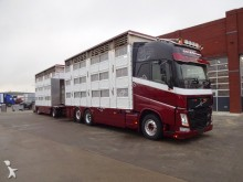 camion Volvo FH460 3 Deks Pezzaioli + Trailer