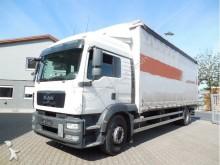 camión MAN TGM 18.340-Euro 7,40 m + Anhänger Fliegl