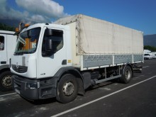 used dropside flatbed tarp truck