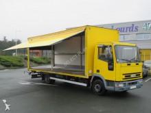 camión furgón pared rígida plegable usado