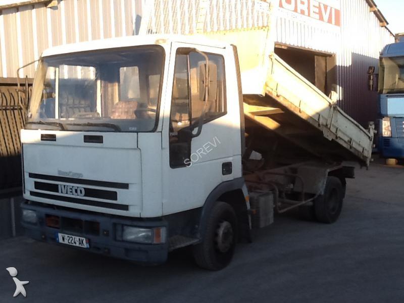 Camion iveco benne marrel eurocargo 75e12 4x2 gazoil euro for Porte universelle benne