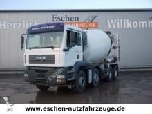 camion MAN TGA 32.390 8x4, 9 m³, AP Achsen, Klima