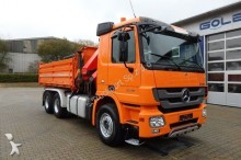 camion Mercedes 2848 6x4 Kipper Retarder Kran PK 26002EH 8,5 Ton