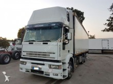 camion Iveco Eurotech 430 CURSOR 4* ASSI CENTINATO E COPRI E SCOPRI MT 10.00