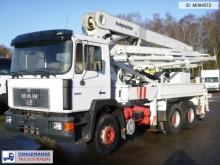 camion MAN 33.332 6x4 Putzmeister concrete pump 32 m