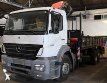 camion plateau porte fer Mercedes