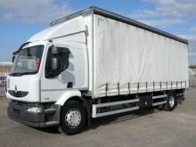 Renault MIDLUM 18 TONNE CURTAINSIDER 2014 AU14 CDV truck