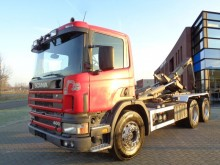 camión Scania 124G420 6x4 Hook / Manual / Euro 2 / Full Steel