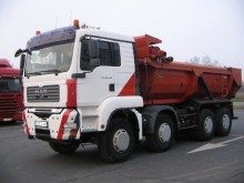 camion benne TP MAN