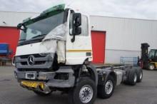 camion châssis accidenté