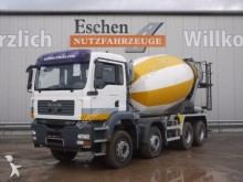 camión MAN TGA 35.400 8x4, Klima, Blatt, 9 m³ Stetter