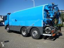 camion DAF CF75 daf 310pk 6X2 MET WATERTANK EN HOOGEDRUKPOM