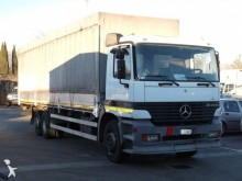 camión lona corredera (tautliner) sistema de lona corrediza Mercedes