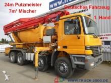 camión Mercedes 3235Putzmeister 24Pumpe 7m³ Mischer DeutscherLKW