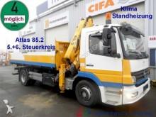 camion Mercedes 1522 3 S.-Kipper Atlas Kran 7.30m=1,14t.*1.Hand