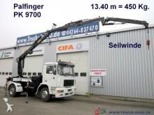 camion MAN 14.264 Montage Dachdecker Kran+Winde 18m = 450Kg
