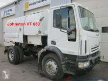 Iveco Eurocargo Johnston VT 650 Anbauteile gestohlen LKW