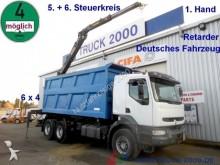 camion Renault Kerax420dci6x4Bordmatik+Kran*W