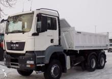 camión MAN TGS 26.400 6X6 KIPER MEILER