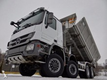 camion Mercedes ACTROS 4141 / / WYWROTKA 3 STRONNA / HYDROB