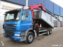 camion DAF 85 FAS CF 340 6x2 HMF 22 ton/meter Kran