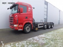 camión Scania 124.420 CHASSIS FULL STEEL