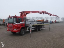 camion Scania P400 SERMAC 4Z36 PUMP