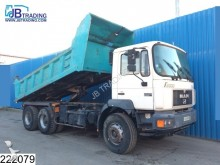 camion MAN 33 343 6x4, Manual, Naafreductie, Steel suspensi