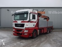 camión MAN TGX 26.440 6x2, Lift/Lenk, Atlas 170.2-A12 Kran