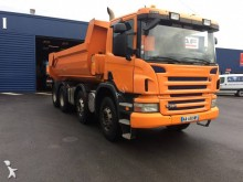 camion benne Enrochement Scania