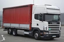 camión Scania 124 470 Pritsche mit Plane 7,10 * Guter Zustand!