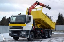 DAF CF 85.340 * Kipper 5,20 m + CRANE 6x4 Bordmatic! truck