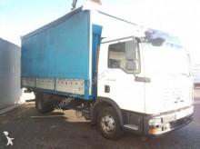camión lona corredera (tautliner) caja abierta entoldada MAN