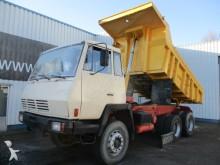 camión Steyr 1491 , 6x4, 6 Cylinder, Spring Suspension