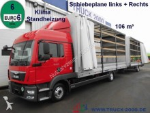 camión MAN TGL 8.220 SchiebePlaneL+R*106m³*Volumen