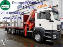 camión MAN TGS26.400 Atlas290.2E 8Ausschübe+Winde*21m=600Kg