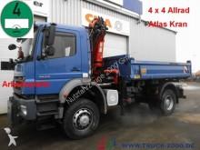 camion Mercedes 1828 4x4 3-S + Kran Atlas 85.2 + Arbeitsplatte