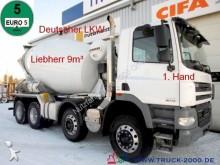 camión DAF CF 85.410 Liebherr 9m³*Deutsches Fahrzeug*1.Hand
