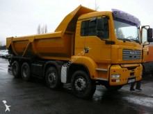 camion halfpipe tipper MAN